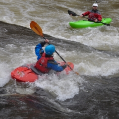 Another great day coaching on the Usk...