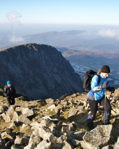 A fabulous mountain day on Cadair Idris...