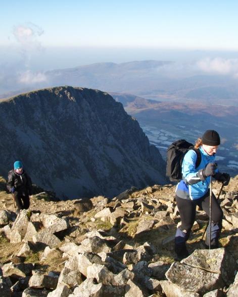 A fabulous mountain day on Cadair Idris...