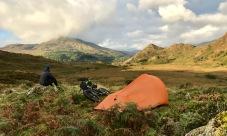 Bikepacking joy in Snowdonia...
