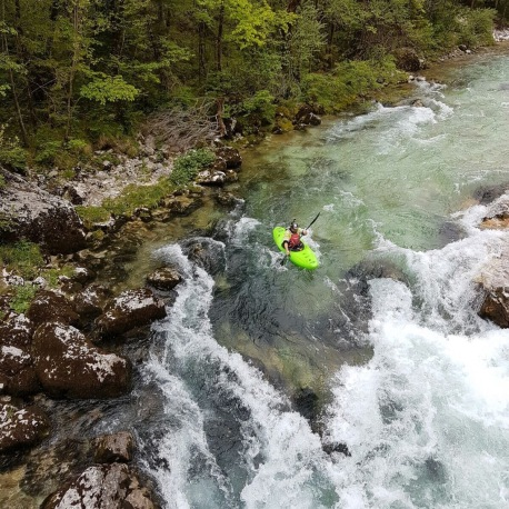 The stunning Soca river in Slovenia...