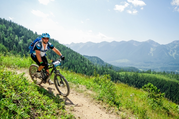 Riding the Transrockies in Canada...