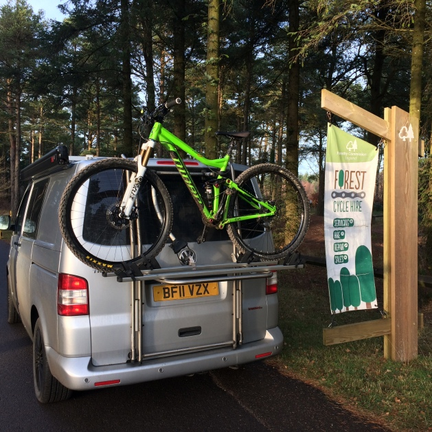 Bikes load quickly but securely...