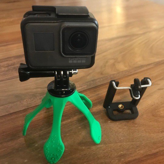 Flexi mount for GoPro or Phone...