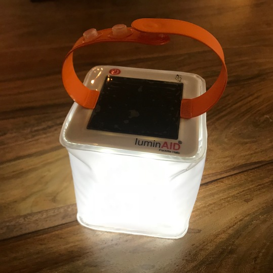 Luminaid Packlite Halo, let there be light...