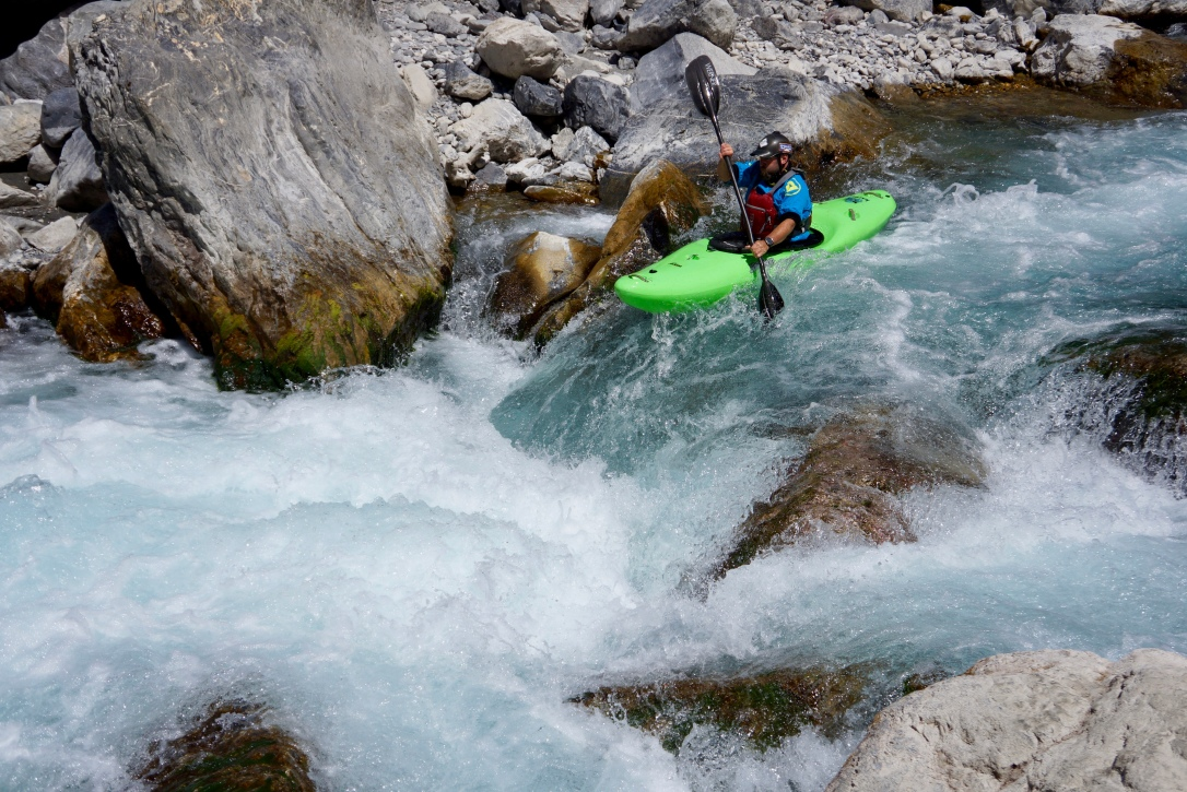 Staircase Rapid, Middle Guil
