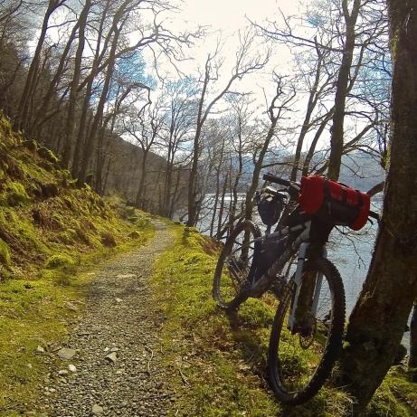 Fun trails on a bike handling well...