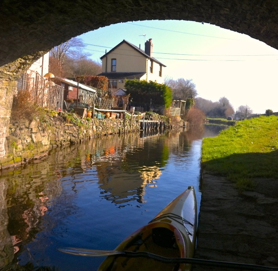 The start of the canal...