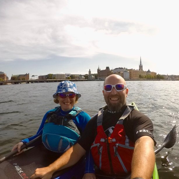 Stockholm from the water...