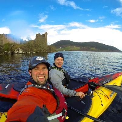 Passing Urquhart Castle...