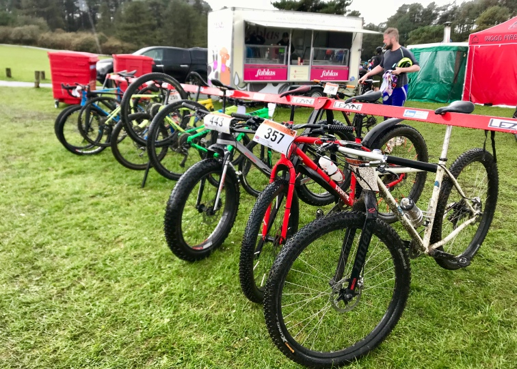 A wonderful array of bikes entered...