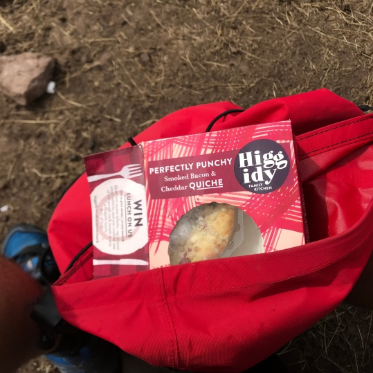 A higher class of mountain snack...