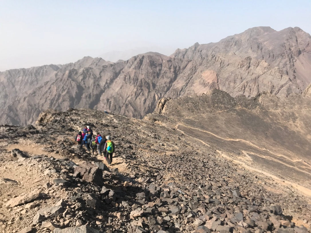 Toubkal descent