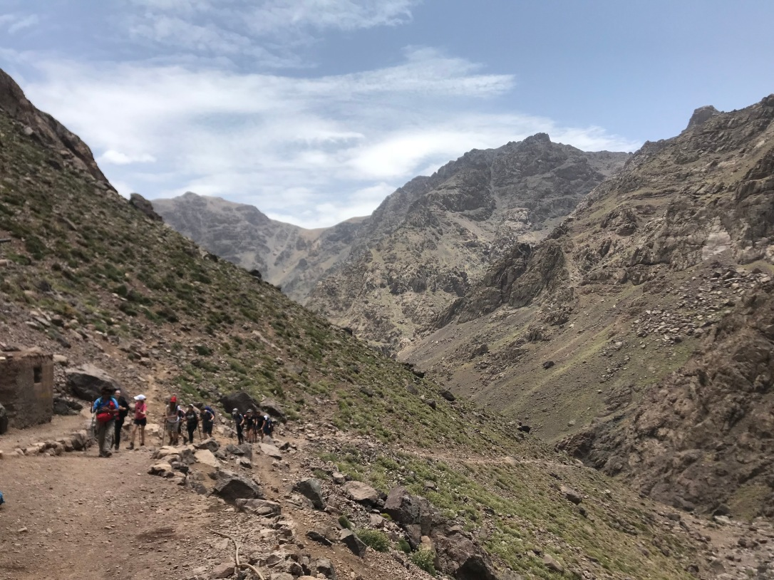 Toubkal - walk in