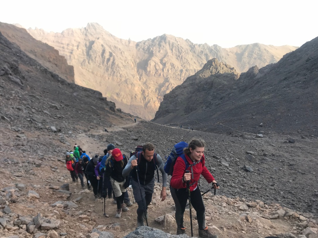 Toubkal - summit bid 1